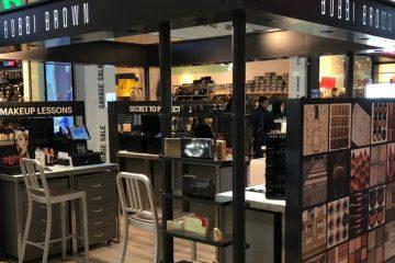 חנויות פופ אפ למותגי האיפור של אסתי לאודר