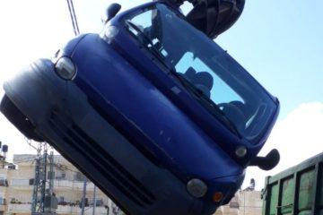 ירושלים: 330 גרוטאות ורכבים נטושים סולקו מהרחובות