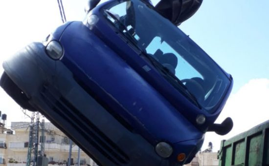 פינוי רכב - צילום: חנית זזון