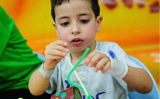 אילוסטרציה: פעילות חבד לילדים חולים (1)