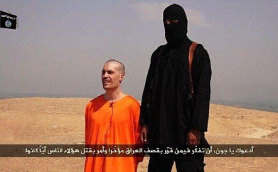 """פעיל דאע""""ש וג'ים פולי לפני ה'הוצאה להורג'"""
