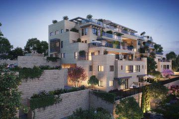 פרוייקט החושן: 33 דירות חדשות
