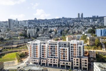 סגר בחיפה: דירות גן להשכרה