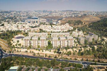 ירושלים: 7 פנטהאוזים ב- 34 מיליון ₪