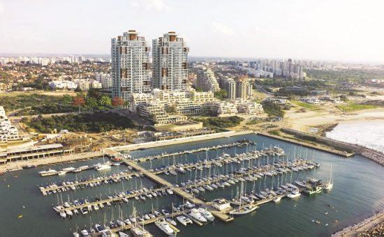 פרויקט יורו SEA@SKY באשקלון של חברת יורו ישראל קרדיט הדמייה רן ון דן