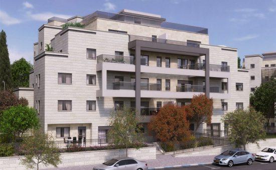 פרויקט מחיר למשתכן של נתיב פיתוח בבית שמש הדמייה קריסטל גרפיקס