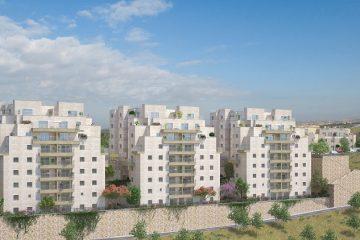 השכונה החדשה בירושלים: נמכר שלב א'