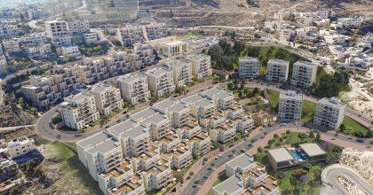קבוצת משקיעים רכש 21 דירות ב'נוף ציון'