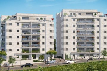 ירושלים: מקום השני בסך התחלות הבניה