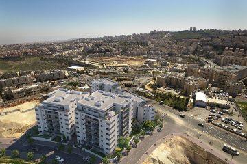 ירושלים במקום השני בהתחלות בניה