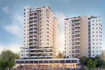 view – עוד פרוייקט מאוכלס בתל אביב