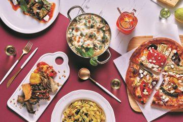 הכי פרש: מטבח איטלקי, ים-תיכוני, אסיאתי וקינוחים