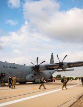 תיעוד: צבא ארצות הברית תירגל בישראל