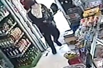 צפו: בן 23 שדד  את המעדנייה