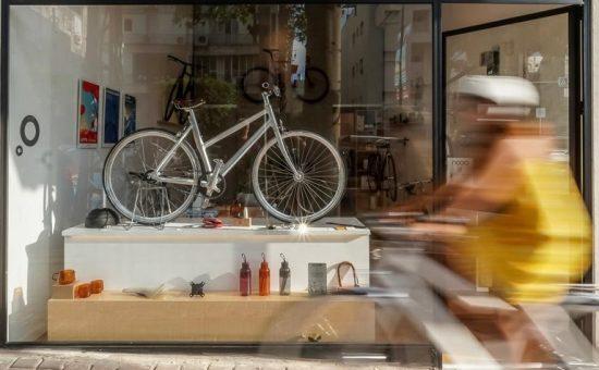 צילום עופר עברי- nooa-חנות לאופניים עירוניים