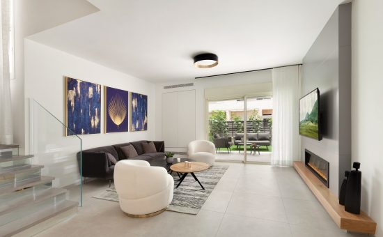 צמוד קרקע של חברת שרביב בפרויקט גבעת אלונים בקריית אתא צילום ניצן הפנר 2