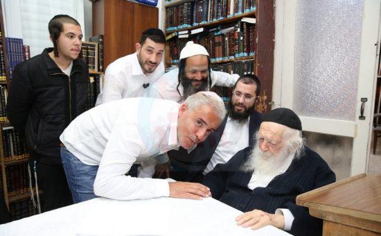 קובי פרץ אצל הרב קנייבסקי (5)