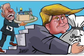קריקטורת טראמפ? כרזות בשירות המולדת