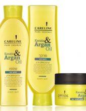 קרטין ושמן ארגן: סדרה חדשה לשיקום שיער יבש