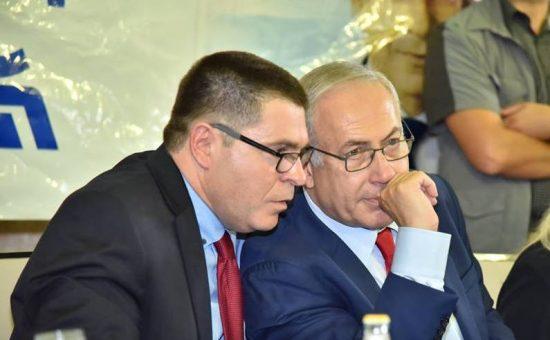 ראש הממשלה בנימין נתניהו עם ראש עיריית צפת שוקי אוחנה (1)