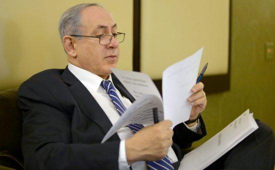 ראש הממשלה בנימין נתניהו צילום עמוס בן גרשום לעמ (4)
