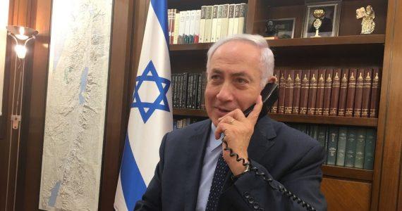"""נתניהו חושף: """"שוחחתי עם עורך 'ישראל היום' בממוצע פעם בשבוע"""""""