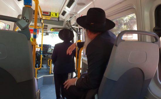 ראש העיר באוטובוס