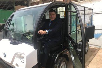 הרשות הראשונה עם כלי רכב 'ירוקים'