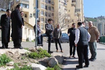 ראש העיר הבטיח: נשקיע בשכונה החרדית