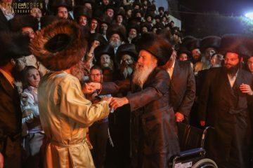 תיעוד ענק: רבי אלימלך בידרמן במירון