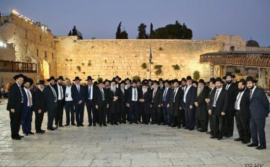 רבני הקהילות הספרדיות התכנסו בירושלים, צילום יעקב כהן (17)
