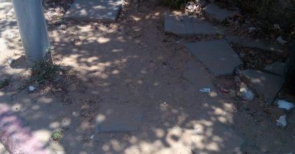 ירושלים: עלה על המדרכה נתקל בצינור והפך לנכה
