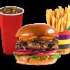 סדרת המבורגרים מוגדלים בשילוב תוספות מדליקות
