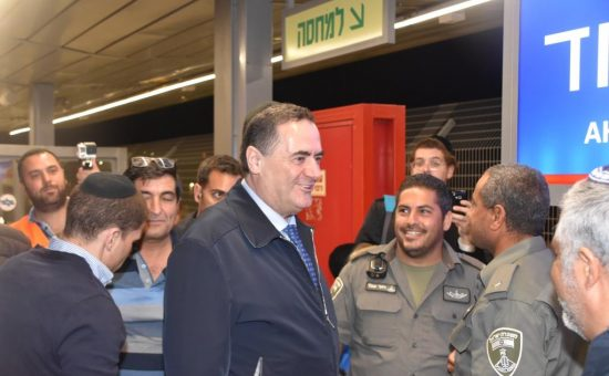 רכבת ישראל עלתה למירון עם השר כץ, צילום פישל רוזנפלד (18)