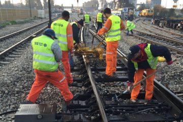 הרכבת בלמה – הרכב שנתקע ונוסעיו, ניצלו