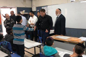 ראש העיר הבטיח: בניין חדש לתלמוד תורה