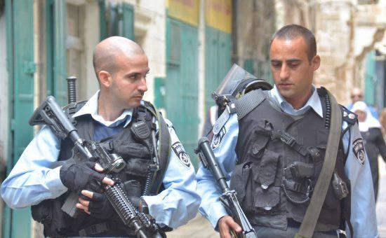 אילוסטרציה: שוטרים. צילום: משטרת ישראל