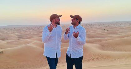 שוקי סלומון וחיים ישראל שרים בדובאי