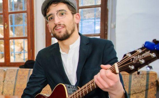 אילוסטרציה - שימעל'ה והגיטרה צילום דוד שטיין