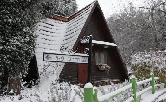 שלג בכפר הנופש רימונים נווה אטיב צילום בן פרידמן(11)