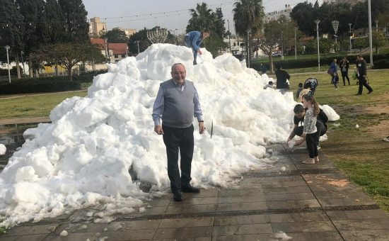 שלג ברחובות 2 לטשטש