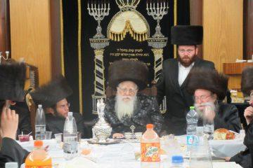 חיפה שמחה בשאץ ויז'ניץ עם הרב שפירא