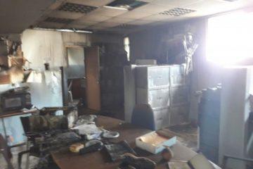 """""""מדובר בהצתה מכוונת"""": שריפה בבית ספר"""