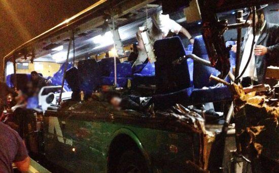 אוטובוס התהפך: שערוריה: נהג אוטובוס הדמים קיבל בחזרה את רשיונו
