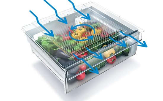 תא אחסון במקרר BEKO עם טכנולוגית EverFresh
