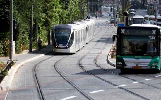 תחבורה ציבורית בירושלים צילום עיריית ירושלים