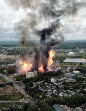 מוסקבה: פיצוץ ארע בתחנת כוח חשמלית – מספר לא ידוע של נפגעים
