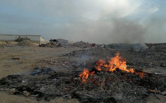 תחנת מעבר פיראטית. צילום אילי אטיאס המשרד להגנת הסביבה