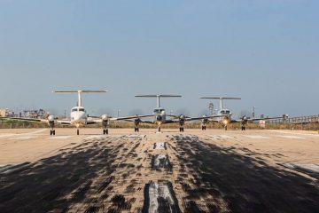 תיעוד מהעברת השדה הצבאי בשדה דוב לחצור