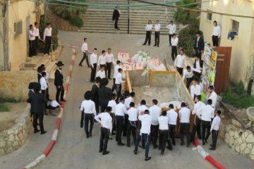 מצוות העירוב של תלמידי ישיבת סלבודקה